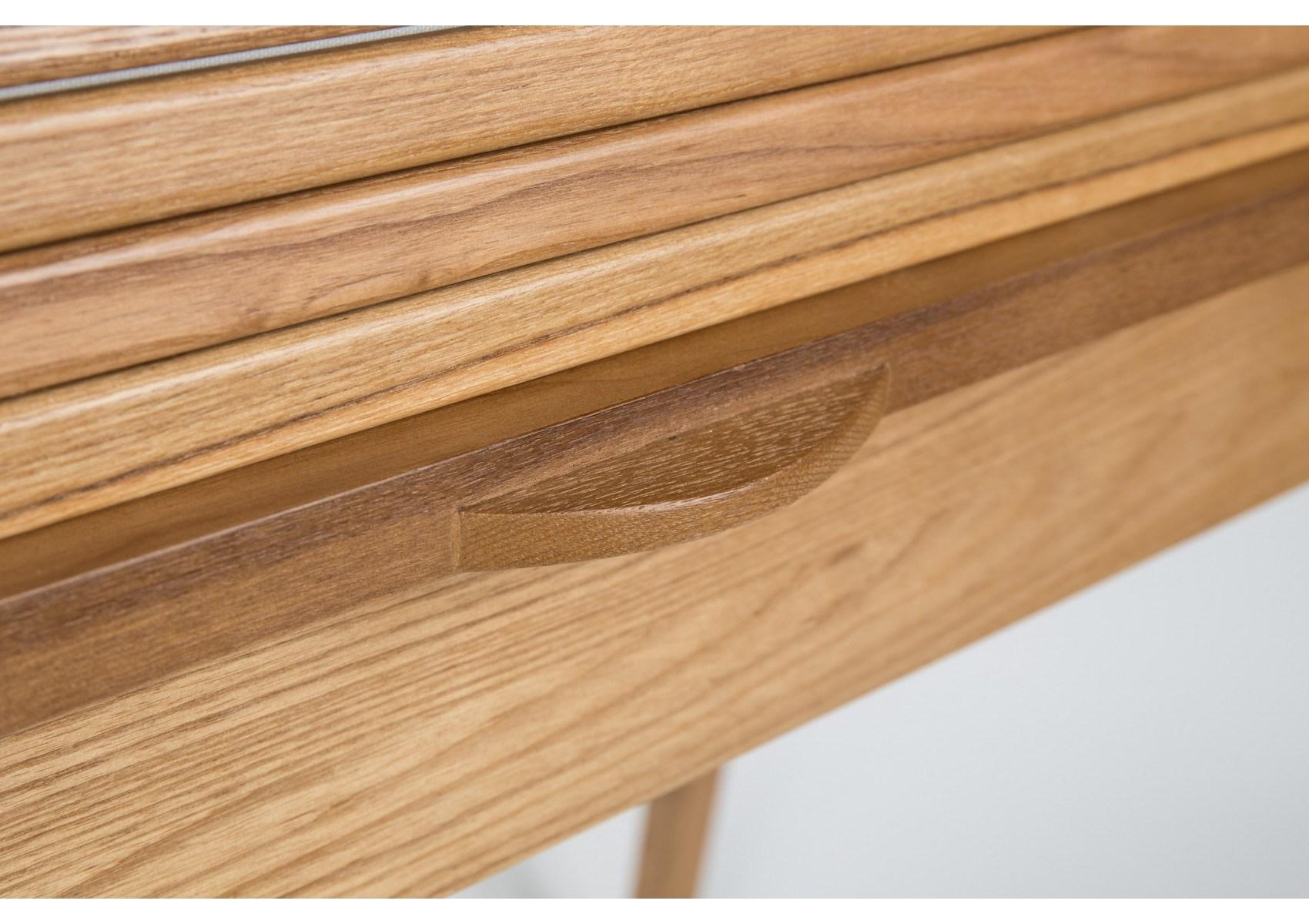 Table bois et verre vaste table basse en bois luxe bureau en bois