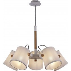 Suspension scandinave nordica 3 lampes - Mantra