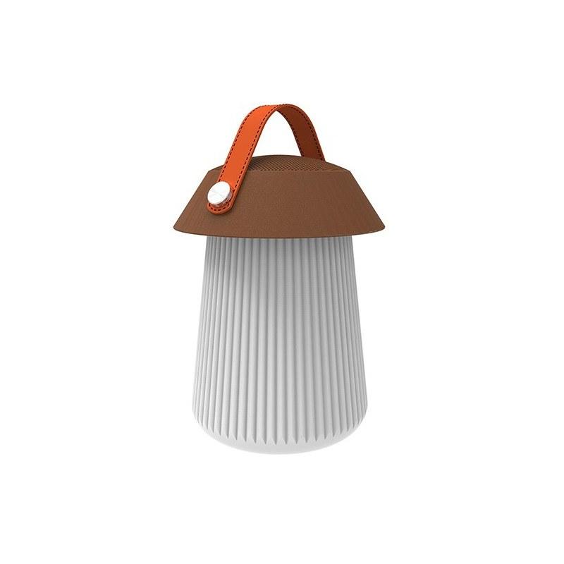 Lampe design- Enceinte et LED- Funghi