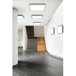 Grand plafonnier extra fin Future LED à variateur