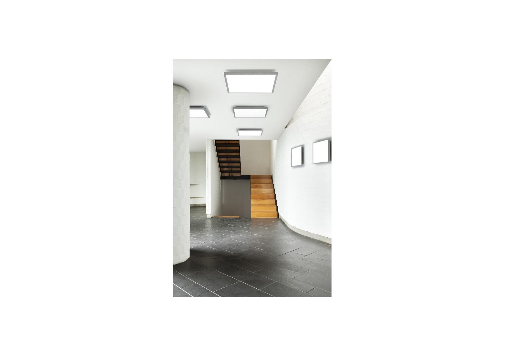 grand plafonnier extra fin future led variateur boite design. Black Bedroom Furniture Sets. Home Design Ideas