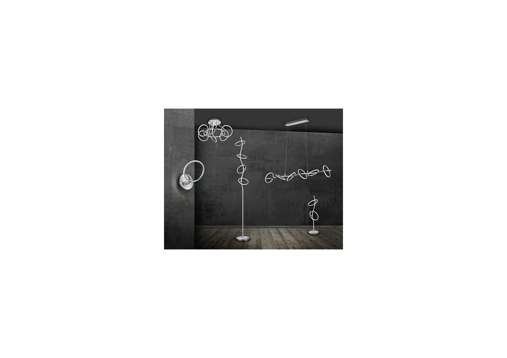 lampadaire design led de la collection olympus de chez trio. Black Bedroom Furniture Sets. Home Design Ideas
