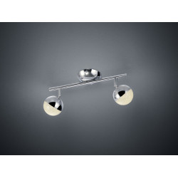 Plafonnier design LED- deux spots- Chris