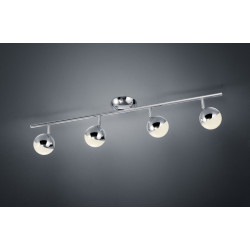 Plafonnier design LED- quatre spots- Chris