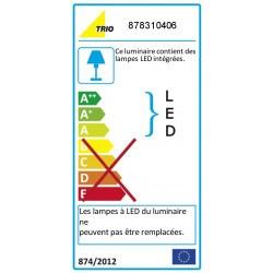 Plafonnier design LED- quatre spots- Chris
