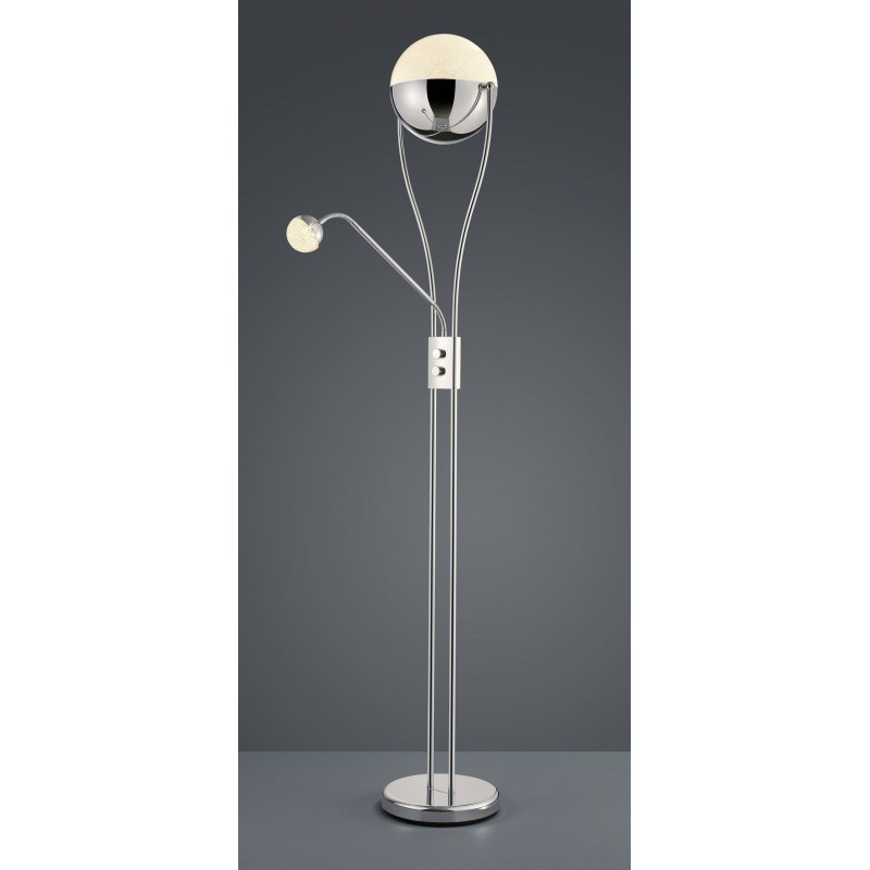 Lampadaire design LED deux globes - Chris