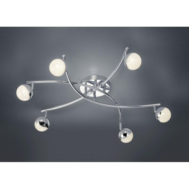 Plafonnier design LED- six globes- Chris