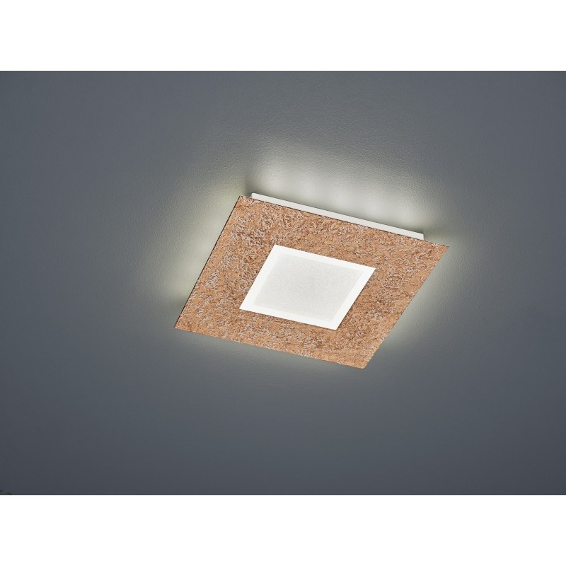 Plafonnier design LED carré - Chiros