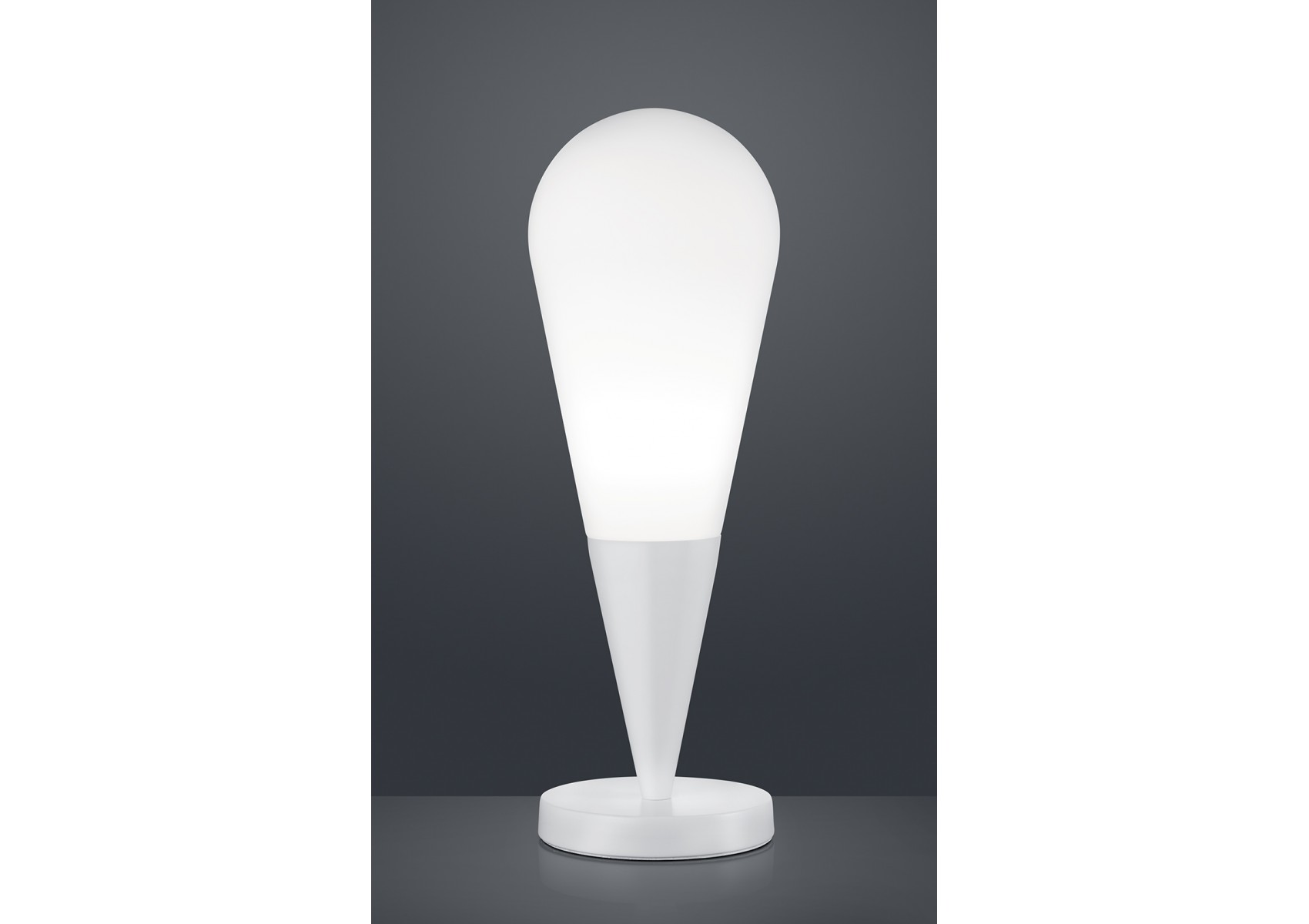 lampe poser design en m tal de la collection toulon de chez trio. Black Bedroom Furniture Sets. Home Design Ideas
