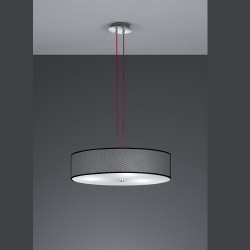 Suspension design Stratos rouge et noire 3L