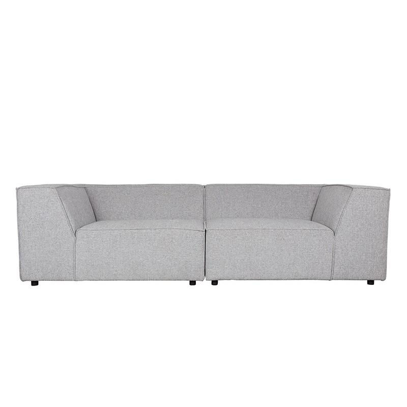 Canapé Design King Gris Clair