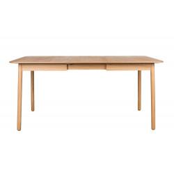 Table design extensible Glimps en bois