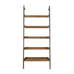 Etagère bois et métal industrielle Shelf Wally