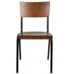 Chaise écolier design Scuola par Dutchbone