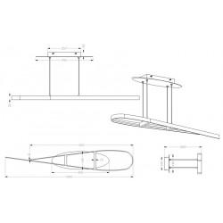 Suspension design LED Parabole