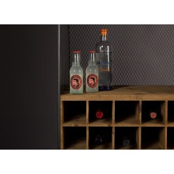 Meuble range bouteille industriel Vino