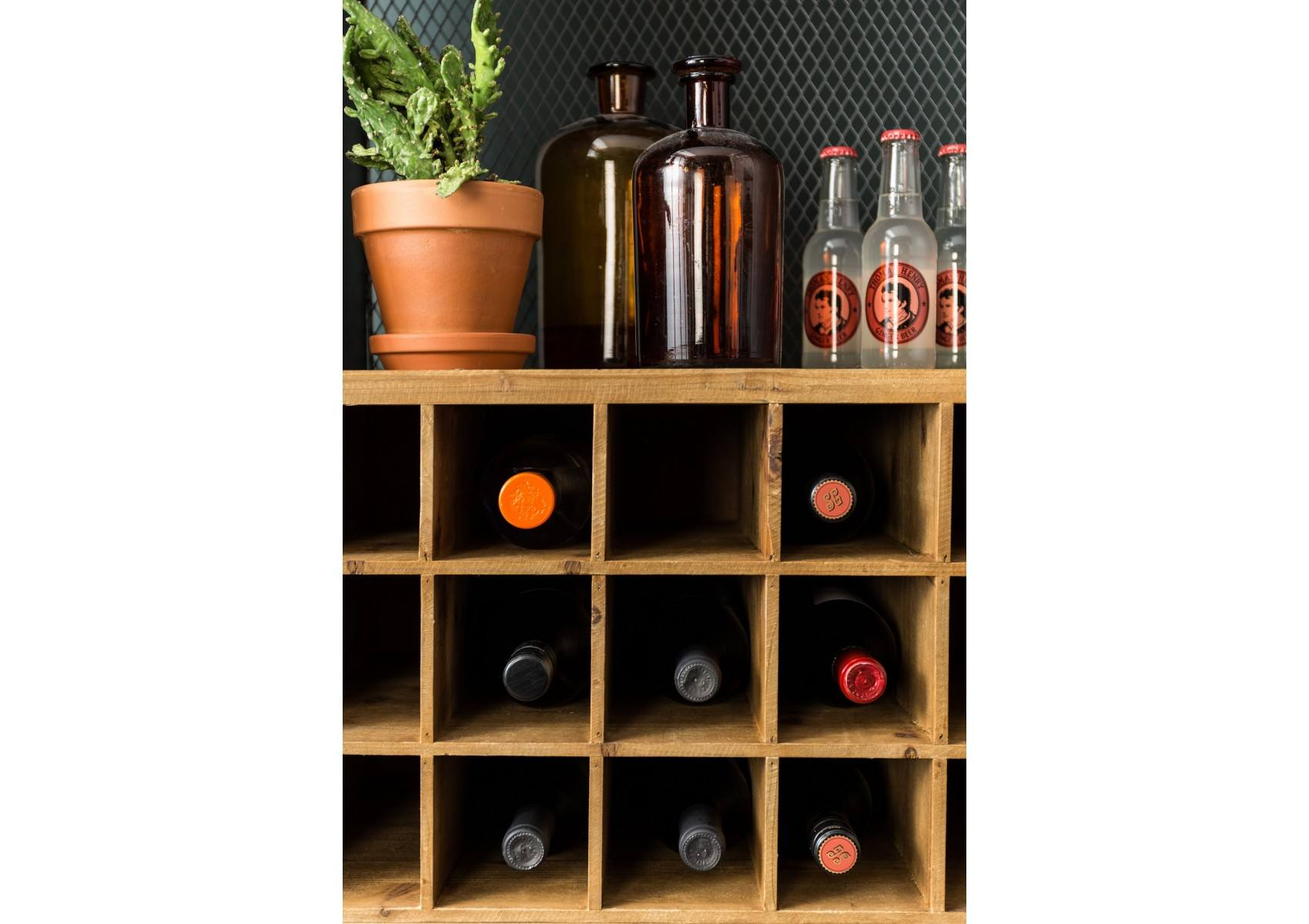 meuble range bouteilles industriel vino de chez dutch bone