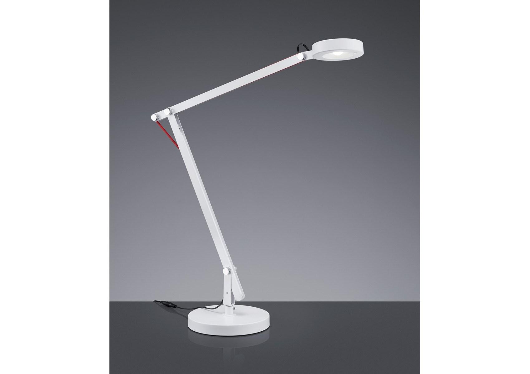 Lampe de bureau amsterdam led avec trois fixations possibles