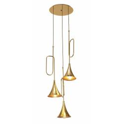 Lampe suspension Mantra Jazz 3L