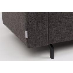 Fauteuil design en tissu Anthracite JEAN par Zuiver