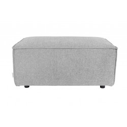Pouf Design King Gris Clair