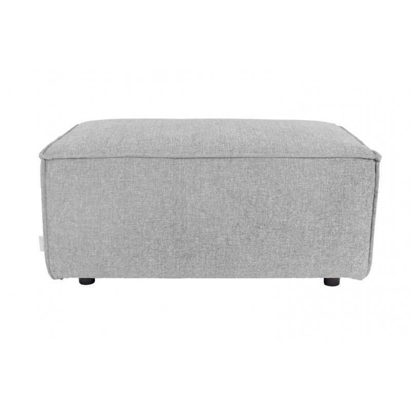 Pouffe Design King Gris Clair