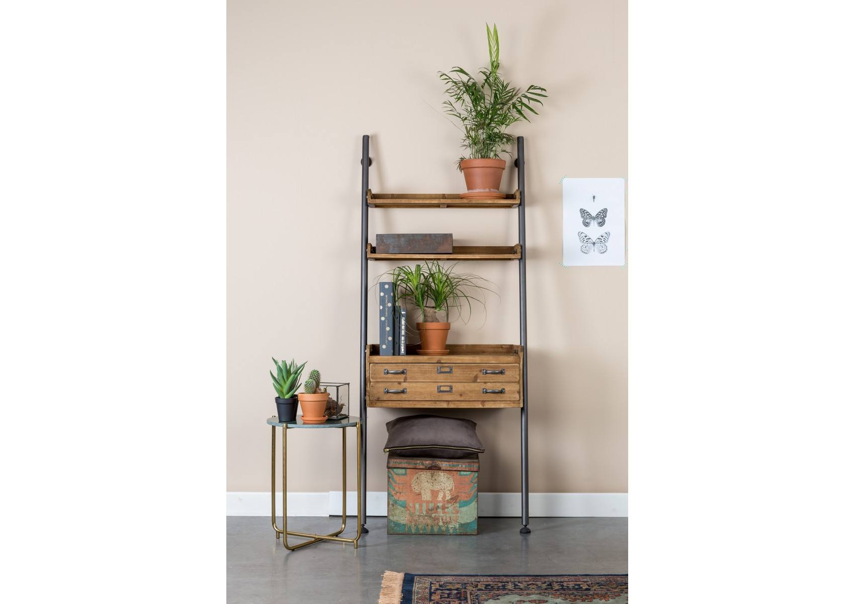 etag re vintage de la collection shelf rook de chez boite design. Black Bedroom Furniture Sets. Home Design Ideas