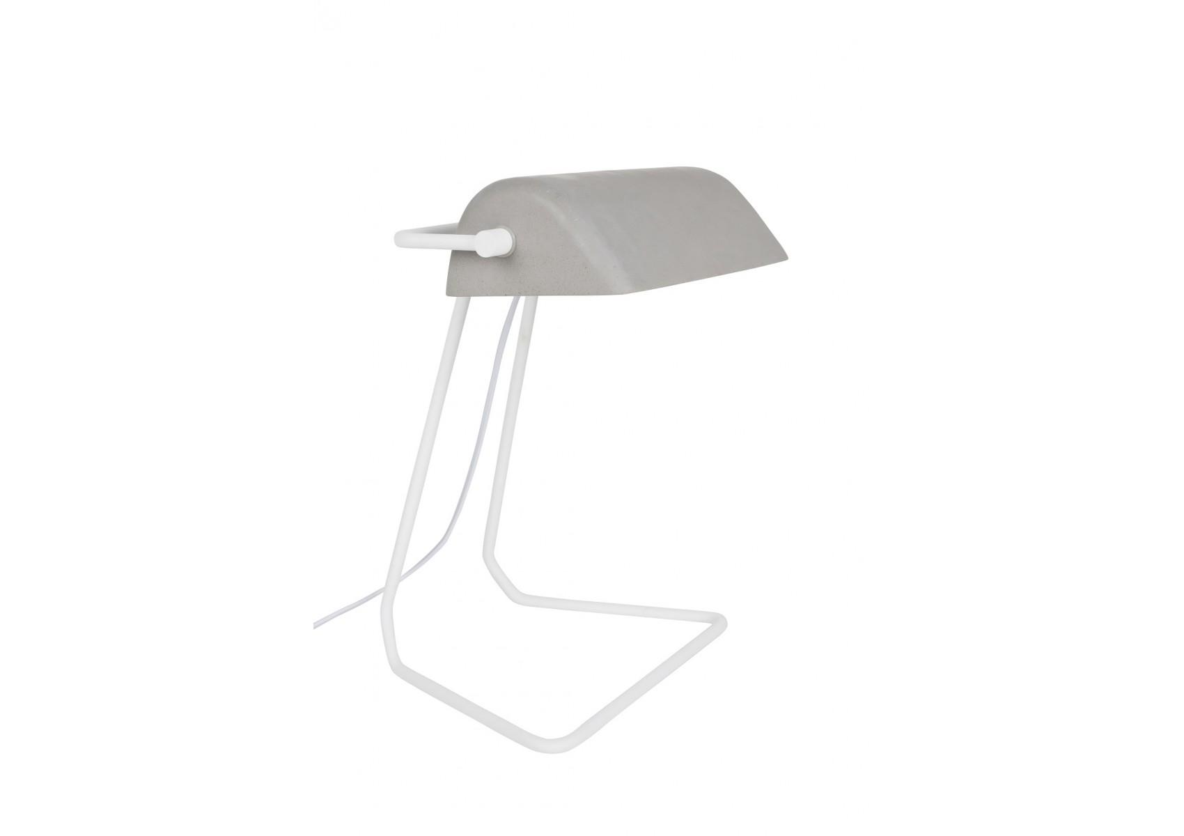 Lampe poser industrielle de la collection broker de chez - Lampes design a poser ...