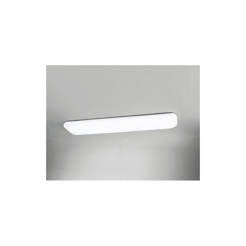 Grand plafonnier design  Rectangle LED Blanc
