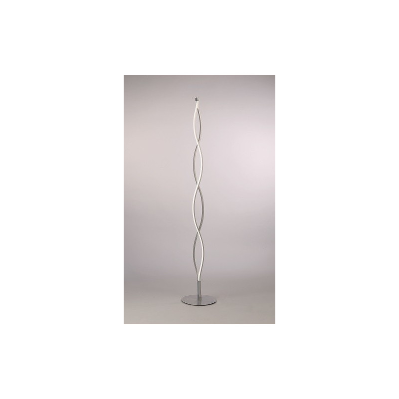 Lampadaire design Sahara Chrome