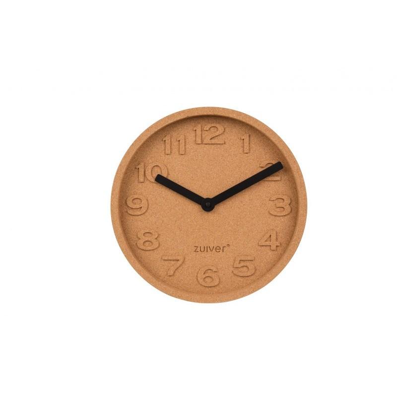 Horloge déco en liège Cork Time Zuiver
