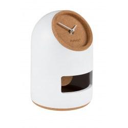 Horloge blanche design Uno Zuiver