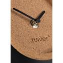 Horloge noire design Uno Zuiver