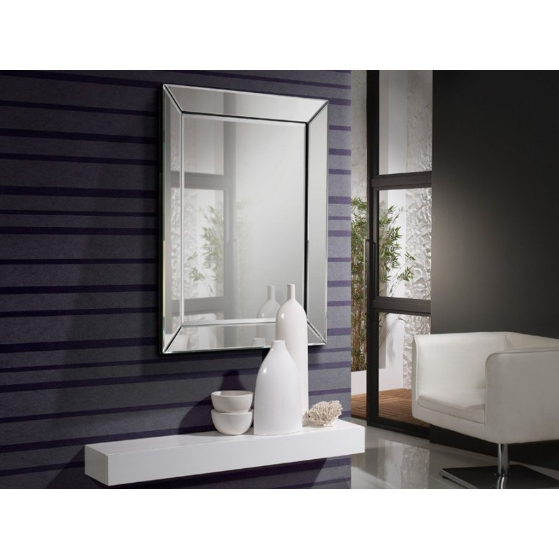 Miroir original design - ELISA 105 x 74 - deco schuller