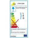 Suspension LED design Grenoble trio