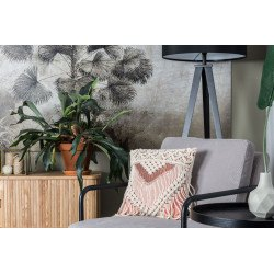 Ambiance Coussin SAAR ivoire et rose - Zuiver