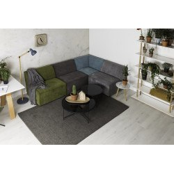 Table basse CUPID XXL noire zuiver