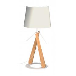 Lampe en bois Zazou LT par Aluminor