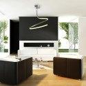 Plafonnier design simple - NUR - ampoule led deco mantra