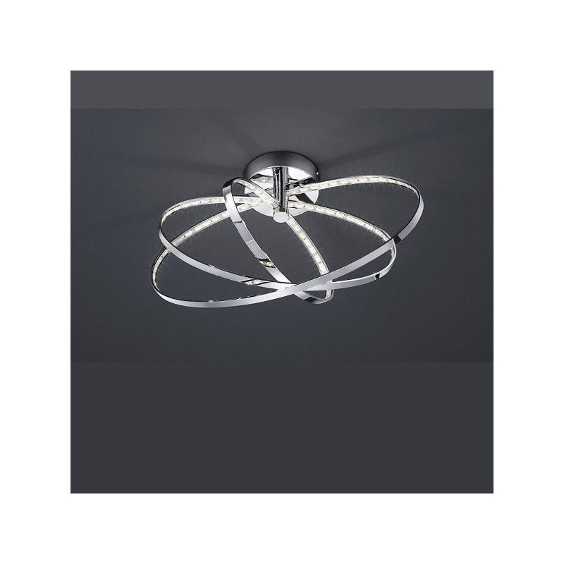 Plafonnier anneaux LED PRATER