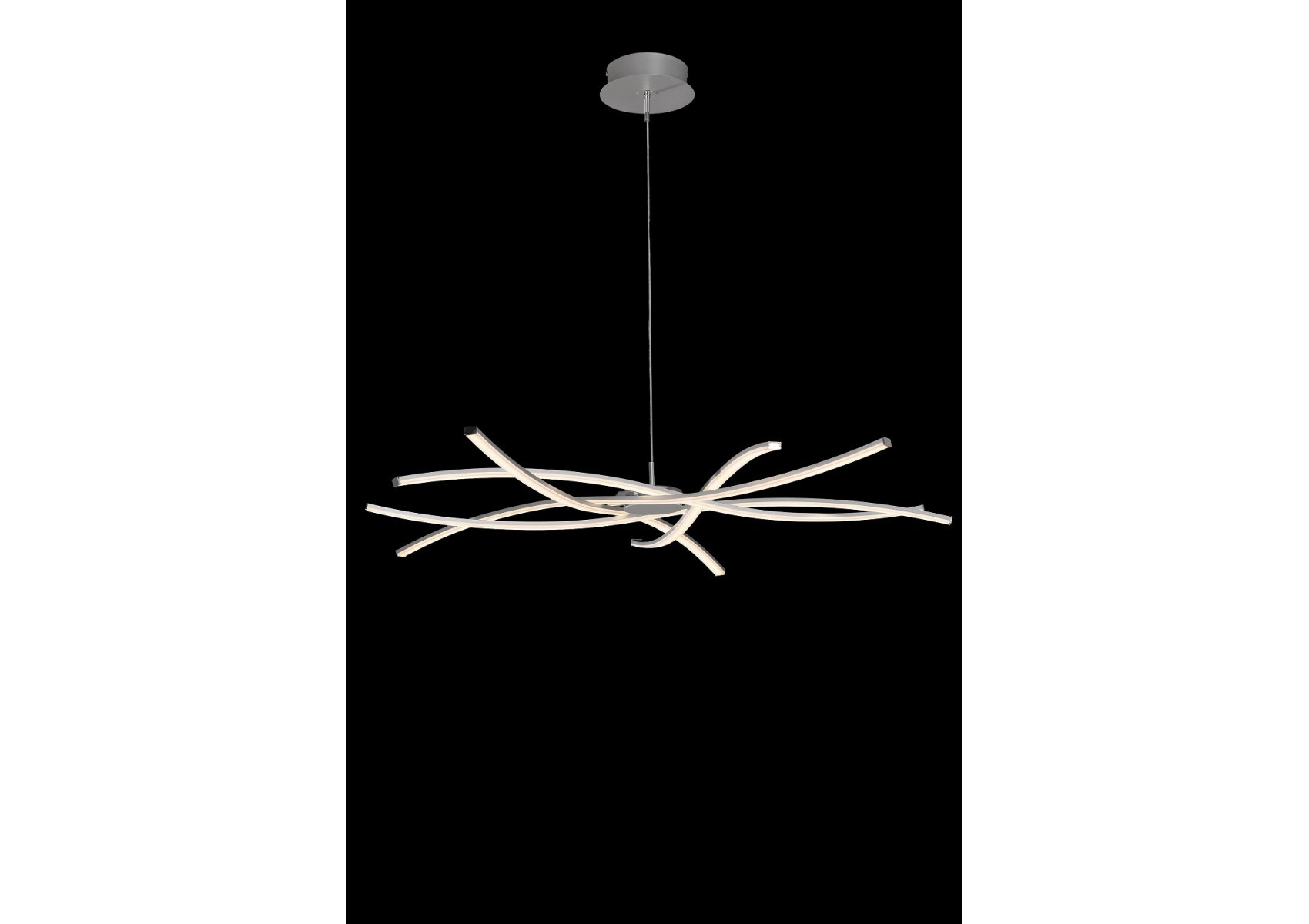 lustre design 5 lampes led aire taille xxl dimmable de chez mantra. Black Bedroom Furniture Sets. Home Design Ideas