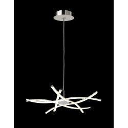Lustre design 5 lampes Led dimmable Aire - Mantra