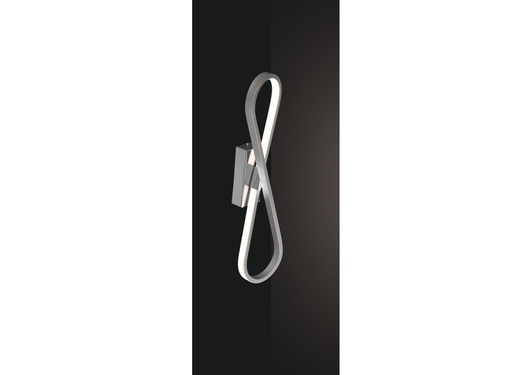 Applique murale moderne led bucle de chez mantra