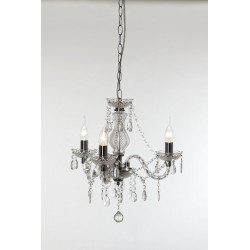 Lustre baroque 3 Lampes