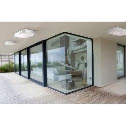 Plafonnier led rectangle blanc Rombos - Mantra