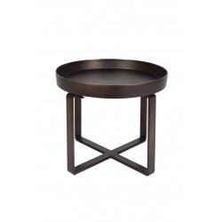 Table basse ethnique en métal Ferro - Dutchbone