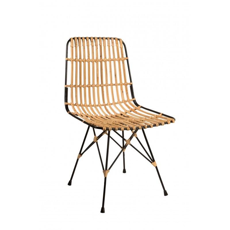 Chaise en rotin Kubu - Dutchbone