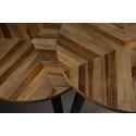 Lot de 2 tables basses Mundu en bois et métal - Dutchbone