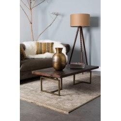 Table basse en bois et métal Class - Dutchbone