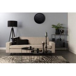 Canapé design en tissu beige JEAN par Zuiver
